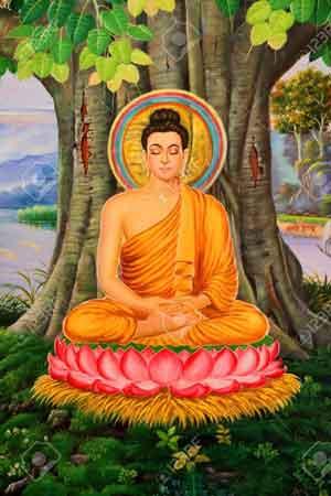 The Buddha, Siddhartha Gautama, enlightened master