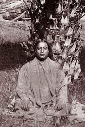 Paramahansa Yogananda, enlightened teacher, taught the meditation practice of kriya yoga